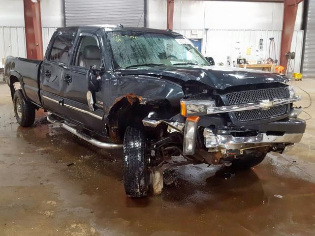 Salvage cars for sale from Copart Lansing, MI: 2003 Chevrolet Silverado