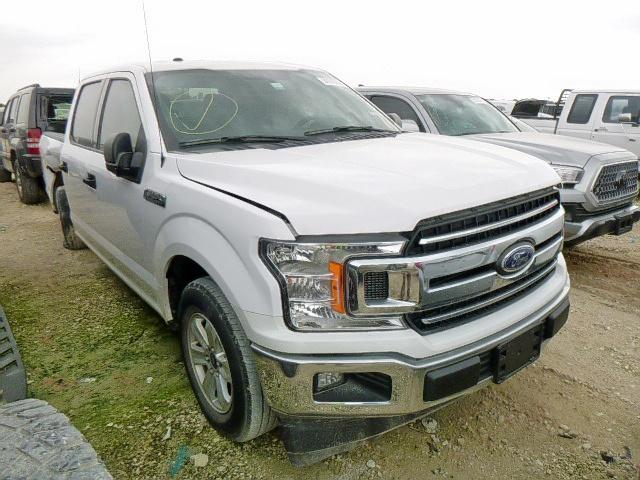 Salvage cars for sale from Copart New Braunfels, TX: 2018 Ford F150 Super