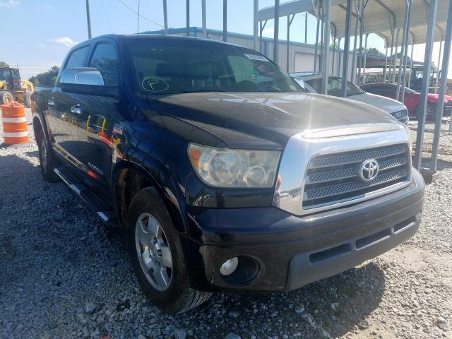 Toyota Tundra CRE salvage cars for sale: 2007 Toyota Tundra CRE
