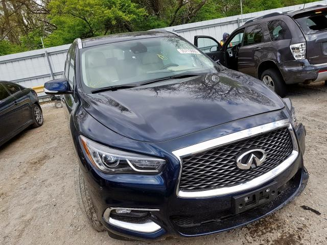 Infiniti QX60 Luxe salvage cars for sale: 2019 Infiniti QX60 Luxe