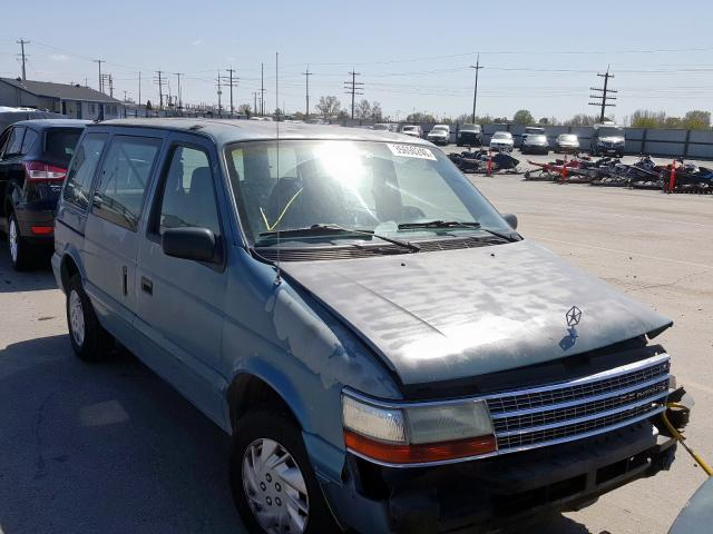 Plymouth Voyager salvage cars for sale: 1995 Plymouth Voyager