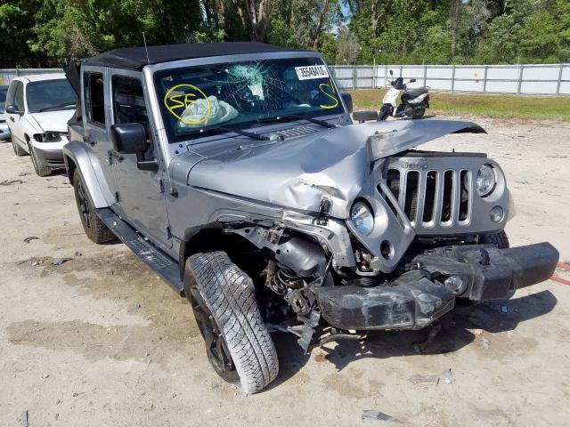 Salvage cars for sale from Copart Ocala, FL: 2016 Jeep Wrangler U