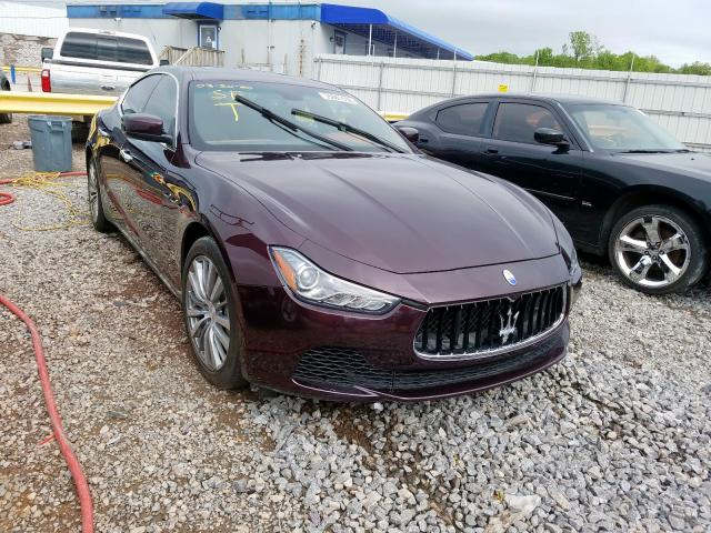 Maserati salvage cars for sale: 2016 Maserati Ghibli