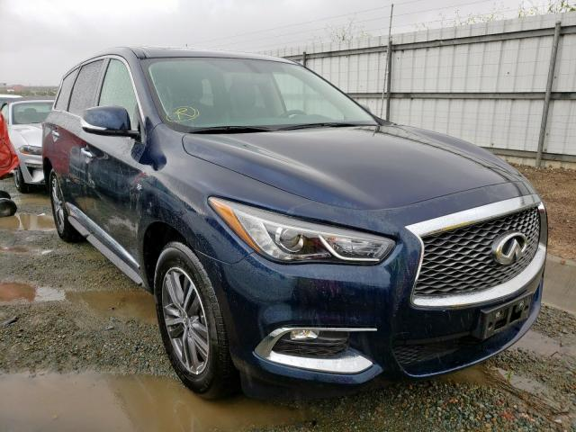 Infiniti QX60 salvage cars for sale: 2018 Infiniti QX60