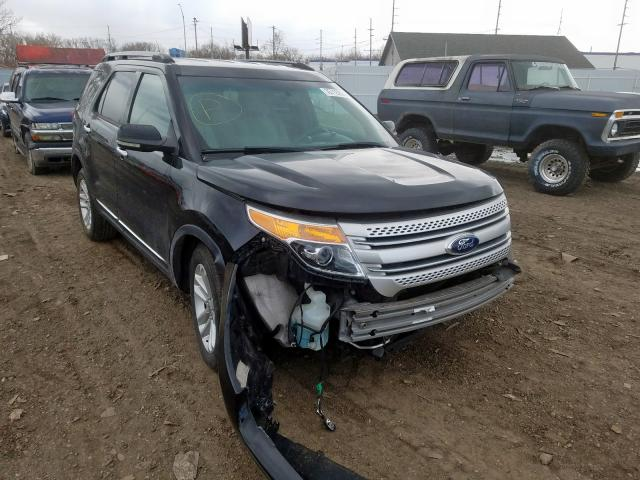 Salvage cars for sale from Copart Hammond, IN: 2011 Ford Explorer X