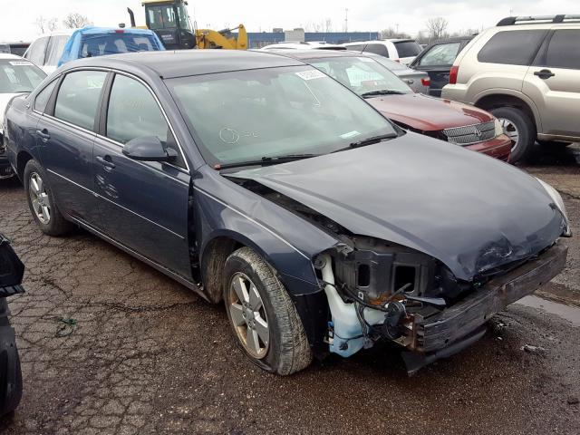 Salvage cars for sale from Copart Woodhaven, MI: 2008 Chevrolet Impala LT