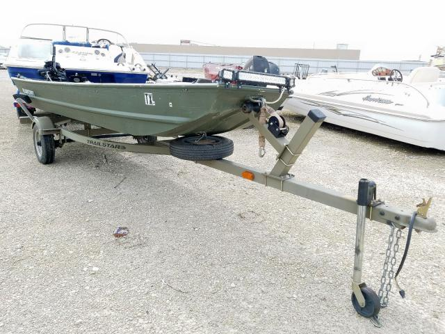 Alumacraft salvage cars for sale: 2009 Alumacraft Boat