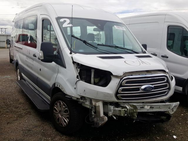 Salvage cars for sale from Copart Rancho Cucamonga, CA: 2016 Ford Transit T
