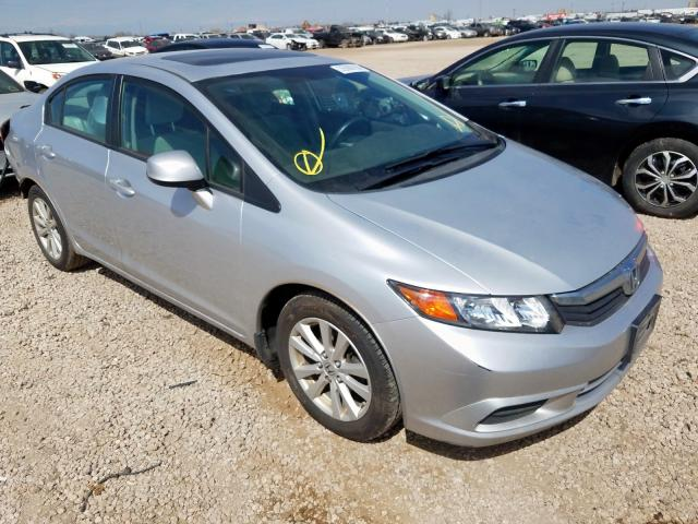 Vehiculos salvage en venta de Copart Brighton, CO: 2012 Honda Civic EX