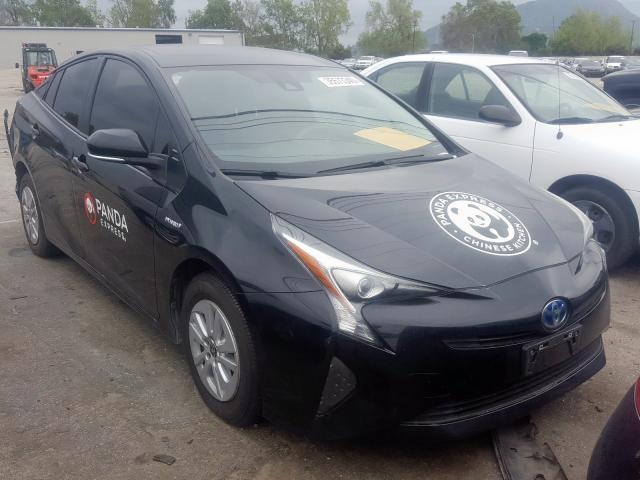 Salvage cars for sale from Copart Colton, CA: 2018 Toyota Prius
