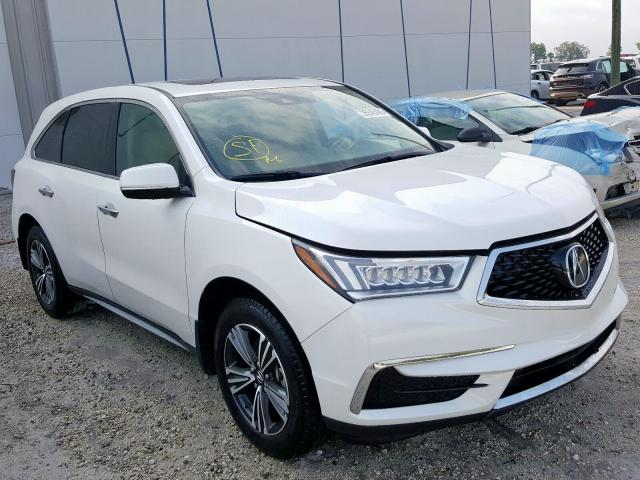 Acura MDX salvage cars for sale: 2018 Acura MDX