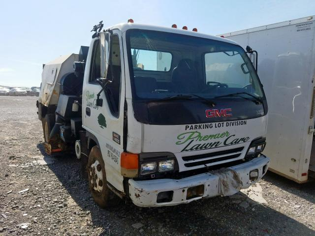 GMC W4500 W450 salvage cars for sale: 2001 GMC W4500 W450
