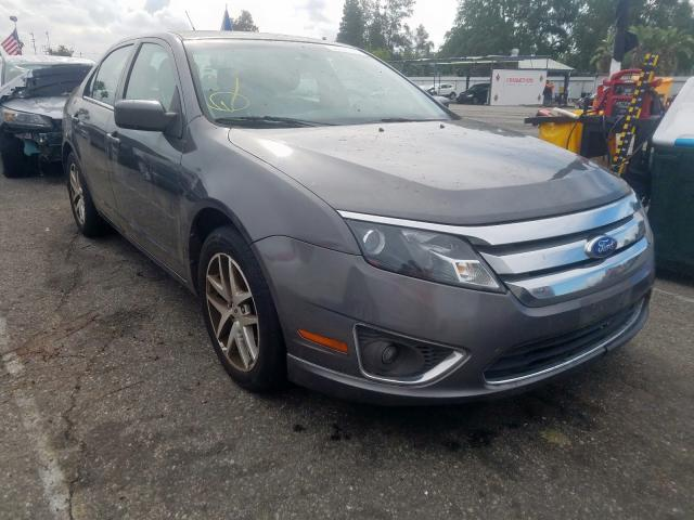 Ford Fusion SEL salvage cars for sale: 2012 Ford Fusion SEL