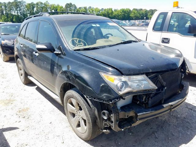 Acura MDX Sport salvage cars for sale: 2008 Acura MDX Sport