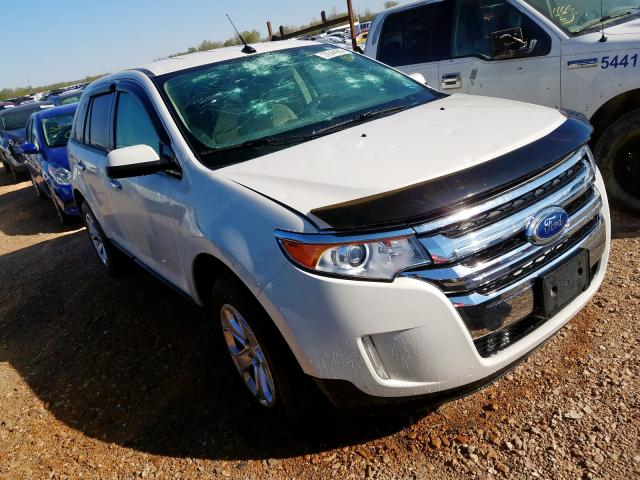 Ford Edge SEL salvage cars for sale: 2011 Ford Edge SEL