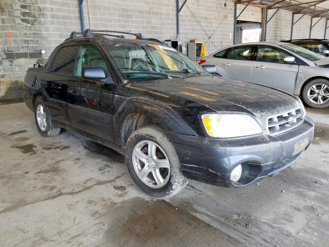 Subaru Baja Sport salvage cars for sale: 2005 Subaru Baja Sport