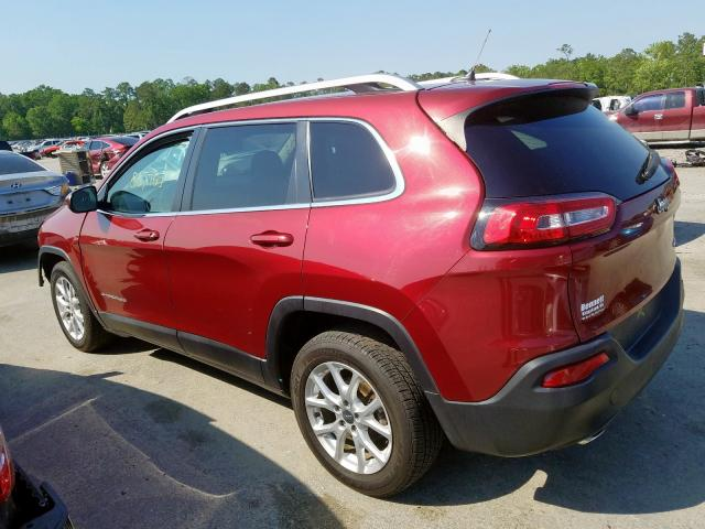 2014 JEEP CHEROKEE L - Right Front View