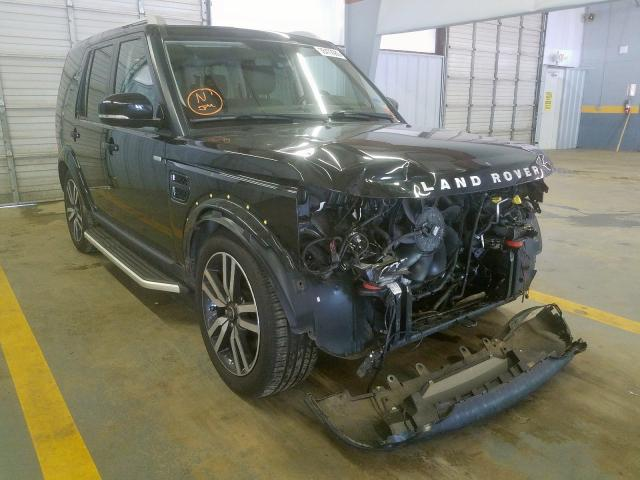 Salvage 2016 Land Rover LR4 HSE LU for sale