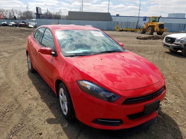 Salvage cars for sale from Copart Dyer, IN: 2016 Dodge Dart SXT