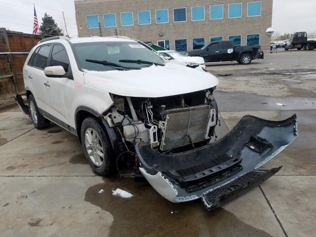 Vehiculos salvage en venta de Copart Littleton, CO: 2015 KIA Sorento LX