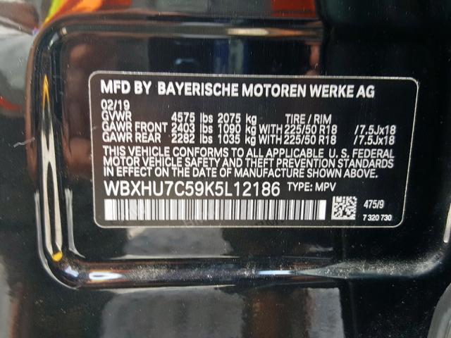 WBXHU7C59K5L12186