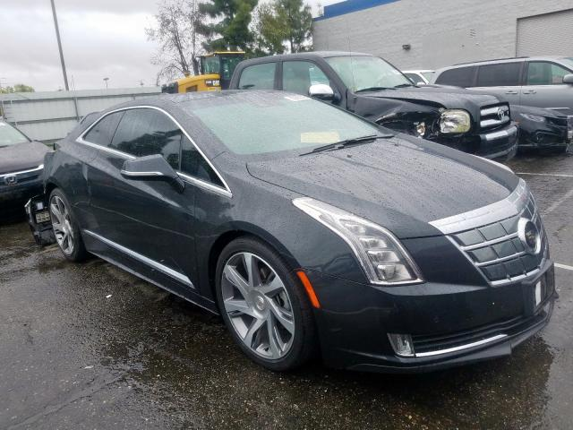 Salvage cars for sale from Copart Rancho Cucamonga, CA: 2014 Cadillac ELR Luxury