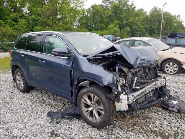 Toyota Highlander salvage cars for sale: 2014 Toyota Highlander