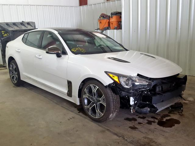 Salvage cars for sale from Copart Mercedes, TX: 2020 KIA Stinger