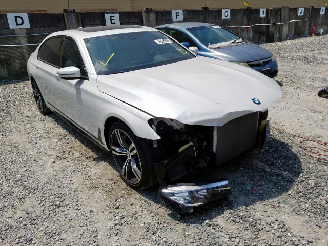 Salvage cars for sale from Copart Opa Locka, FL: 2017 BMW 750 I
