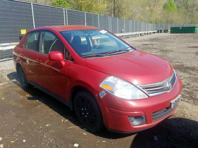 Salvage cars for sale from Copart Waldorf, MD: 2010 Nissan Versa S