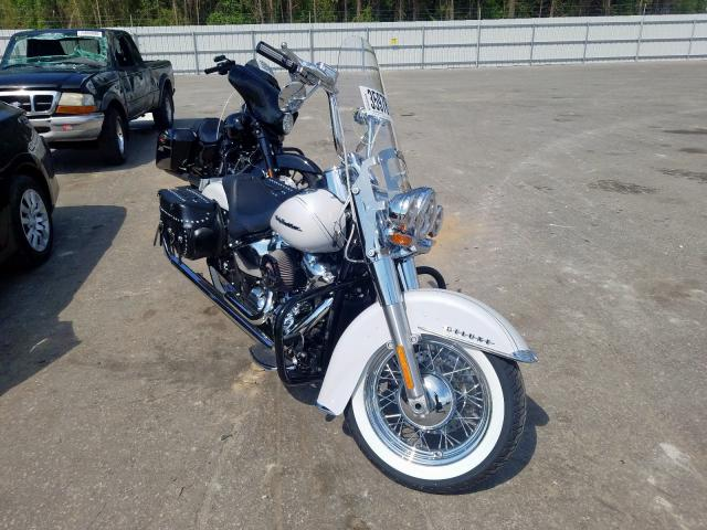 Salvage cars for sale from Copart Dunn, NC: 2020 Harley-Davidson Flde