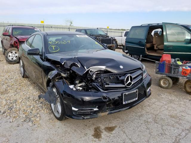 Mercedes-Benz C 350 salvage cars for sale: 2015 Mercedes-Benz C 350