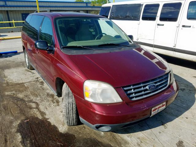 Ford Freestar S salvage cars for sale: 2006 Ford Freestar S