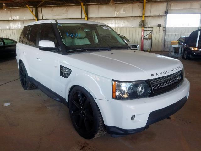 Land Rover salvage cars for sale: 2012 Land Rover Range Rover