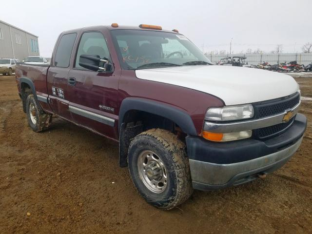 Chevrolet salvage cars for sale: 2001 Chevrolet Silverado