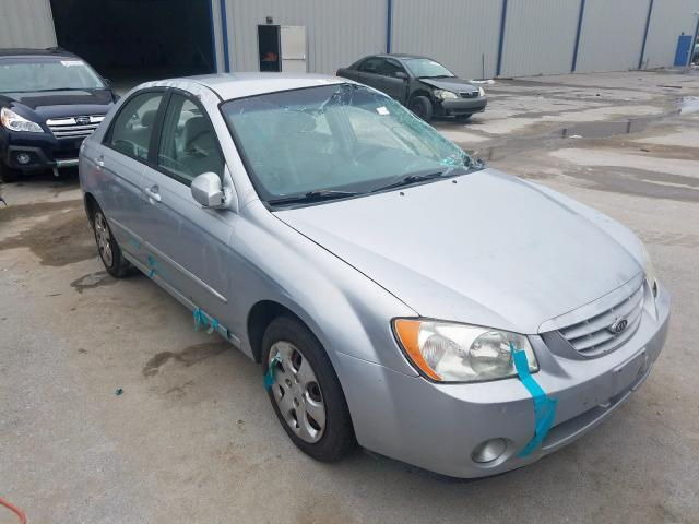KIA Spectra LX salvage cars for sale: 2004 KIA Spectra LX