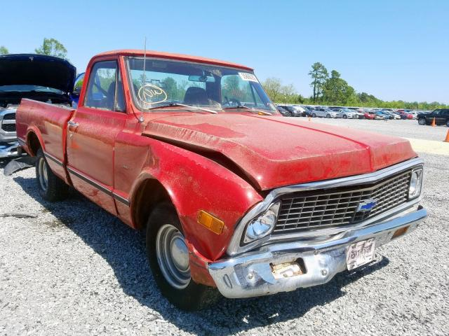 Chevrolet C-10 salvage cars for sale: 1971 Chevrolet C-10