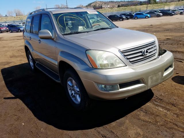 Lexus salvage cars for sale: 2004 Lexus GX 470