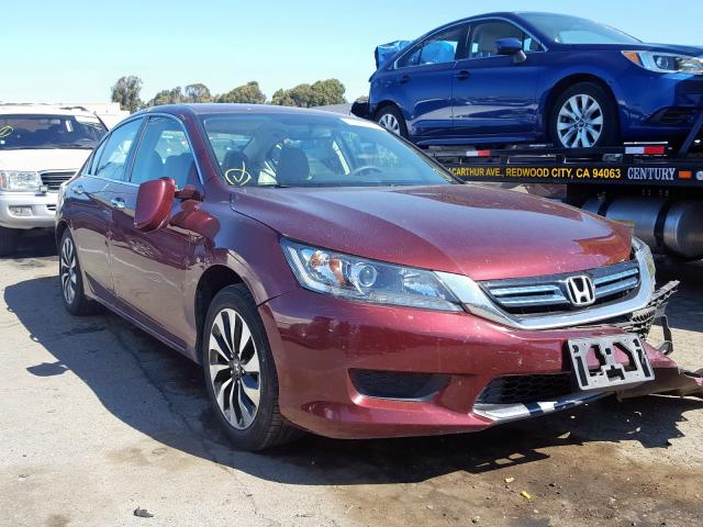 Honda Accord Hybrid salvage cars for sale: 2015 Honda Accord Hybrid