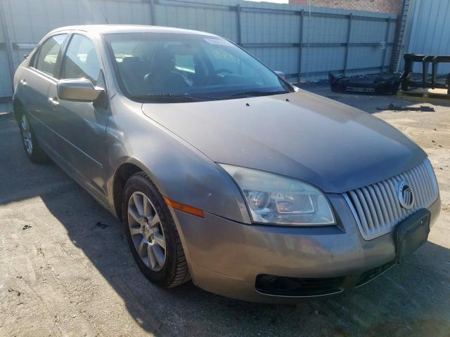Mercury salvage cars for sale: 2009 Mercury Milan Premium
