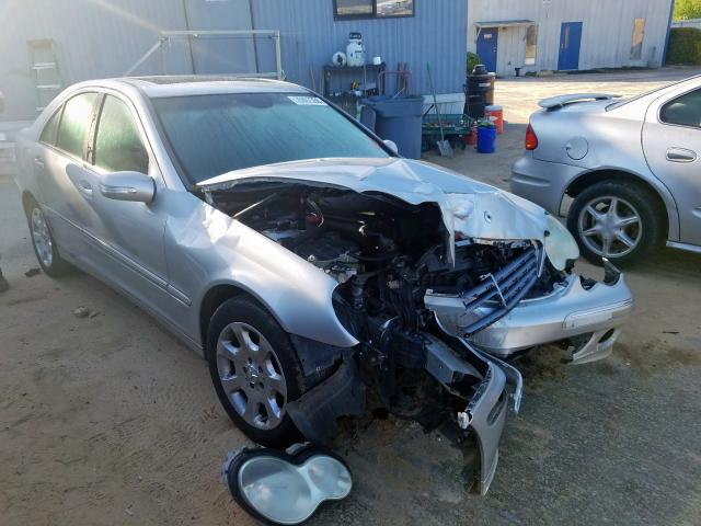 Mercedes-Benz C 320 salvage cars for sale: 2005 Mercedes-Benz C 320