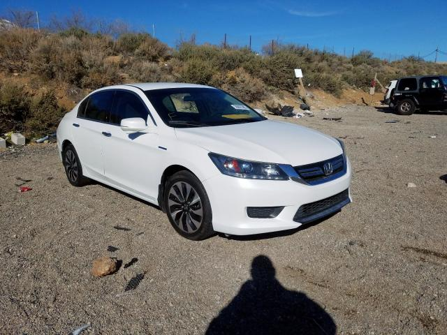 Honda Accord Hybrid salvage cars for sale: 2014 Honda Accord Hybrid