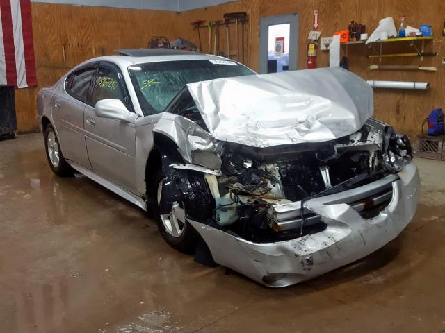 Salvage cars for sale from Copart Kincheloe, MI: 2004 Pontiac Grand Prix