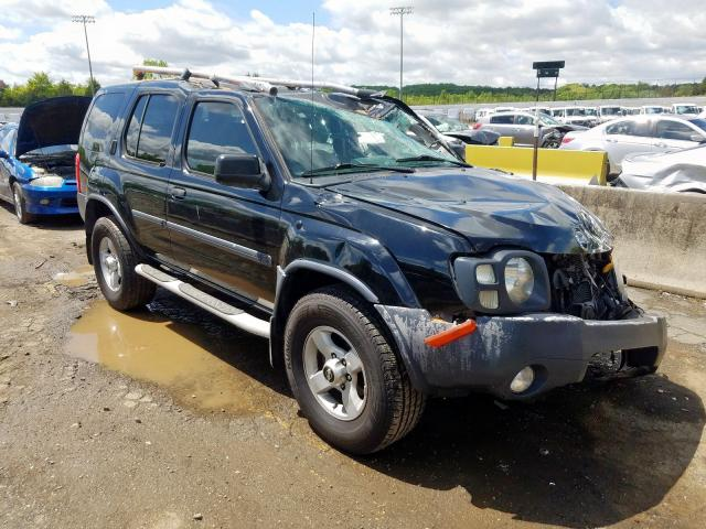 Salvage cars for sale from Copart Concord, NC: 2004 Nissan Xterra XE