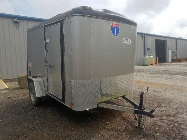 Trail King Enclosed salvage cars for sale: 2017 Trail King Enclosed