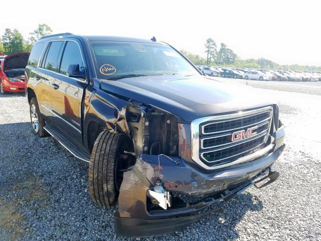 GMC Yukon SLT salvage cars for sale: 2015 GMC Yukon SLT