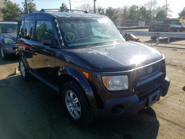 Honda Element EX salvage cars for sale: 2006 Honda Element EX