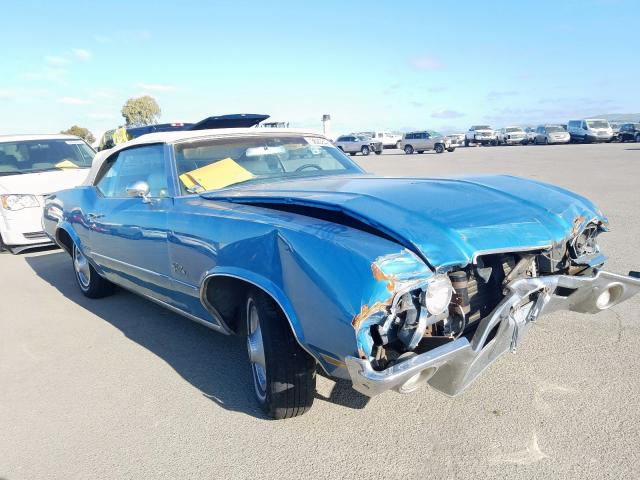 Oldsmobile salvage cars for sale: 1972 Oldsmobile Cutlass
