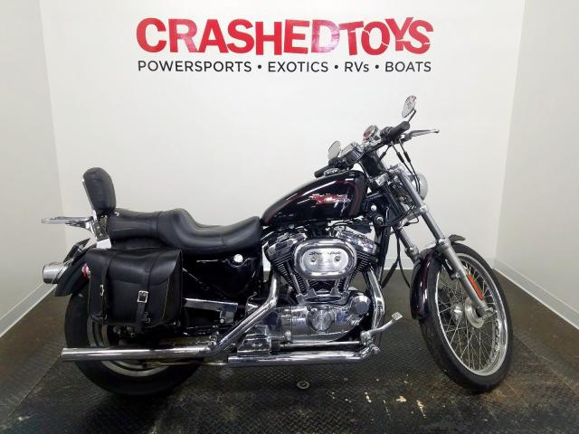 Harley-Davidson XL1200 C salvage cars for sale: 2002 Harley-Davidson XL1200 C