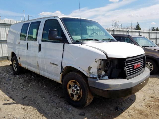 GMC Savana G25 salvage cars for sale: 2006 GMC Savana G25